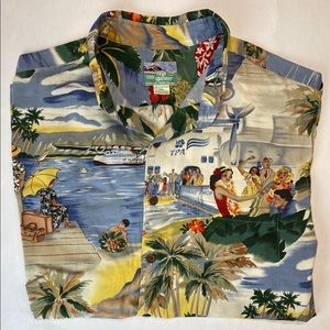 REYN SPOONER HAWAIIAN SHIRT size XL